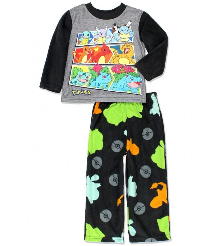Pokemon Evolution Sleeve 2 Piece Pajamas