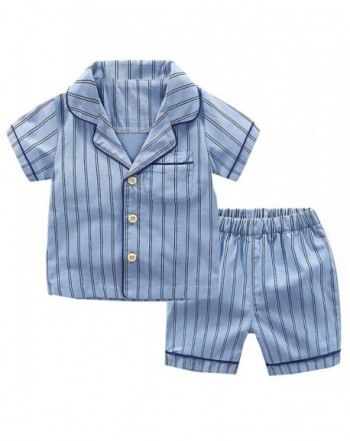 Ameyda Boys Striped Short Pajama