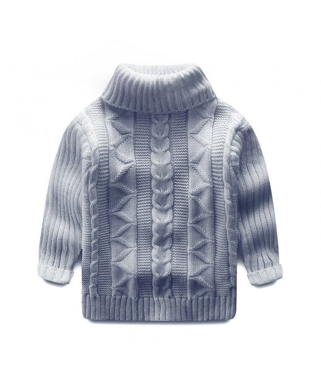 Mud Kingdom Toddler Turtleneck Pullover