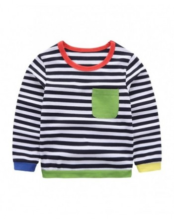 Motteecity Little Striped Spring T Shirt