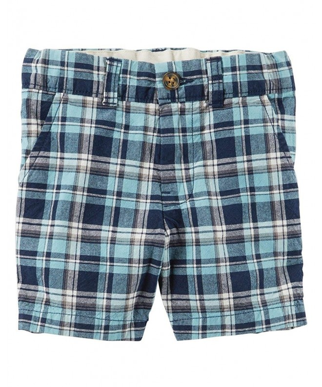 Carters Little Flat Front Shorts 2 Toddler