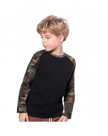 Koupa Little Camouflage Sleeved T Shirt