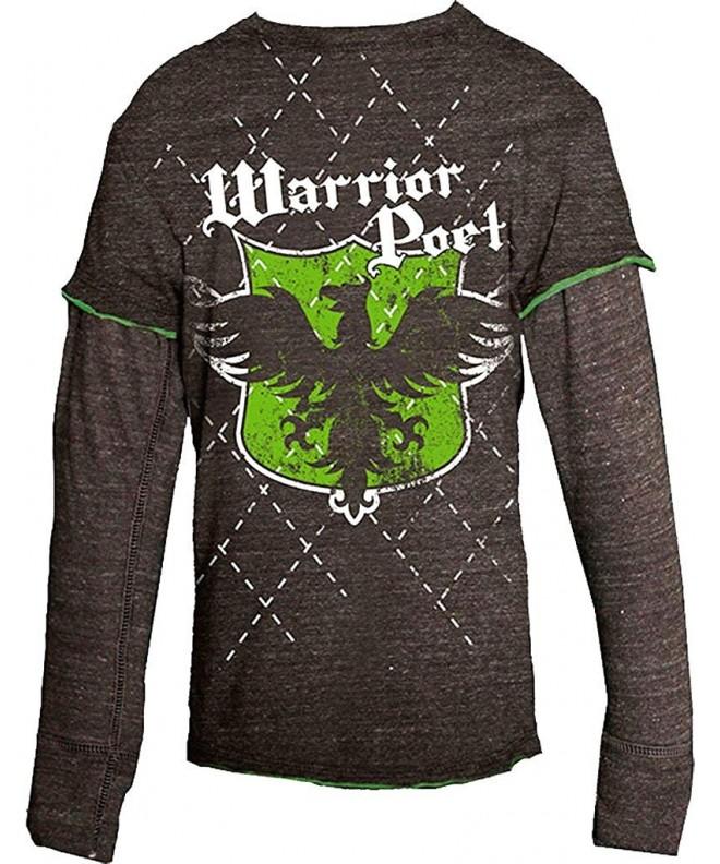 Warrior Poet Phoenix Long Sleeved T Shirt