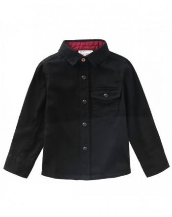 MOMOLAND Sleeve Woven Twill Shirt