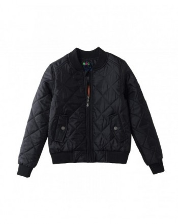 M2C Girls Padded Bomber Jacket