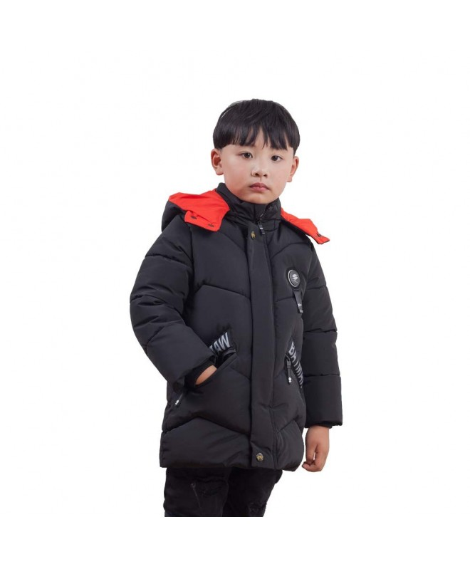 Keruishu Overcoat Fashion Hooded Windproof