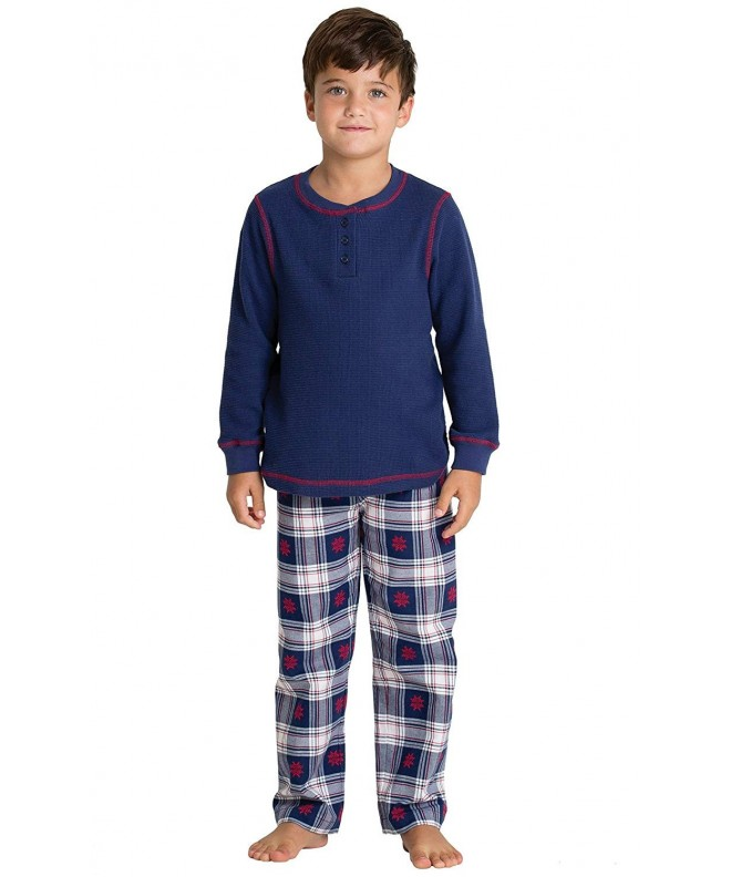 PajamaGram Flannel Classic Pajamas Long Sleeved