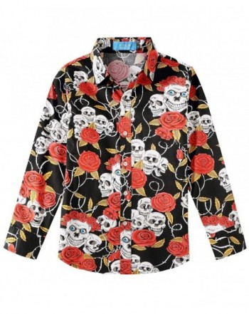 SSLR Printed Casual Sleeve Button
