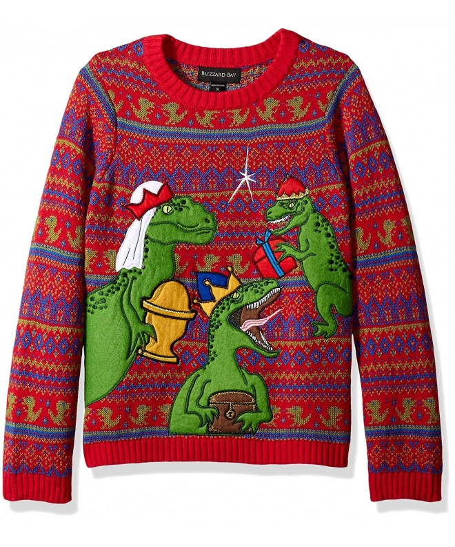 Blizzard Bay Three Raptors Sweater