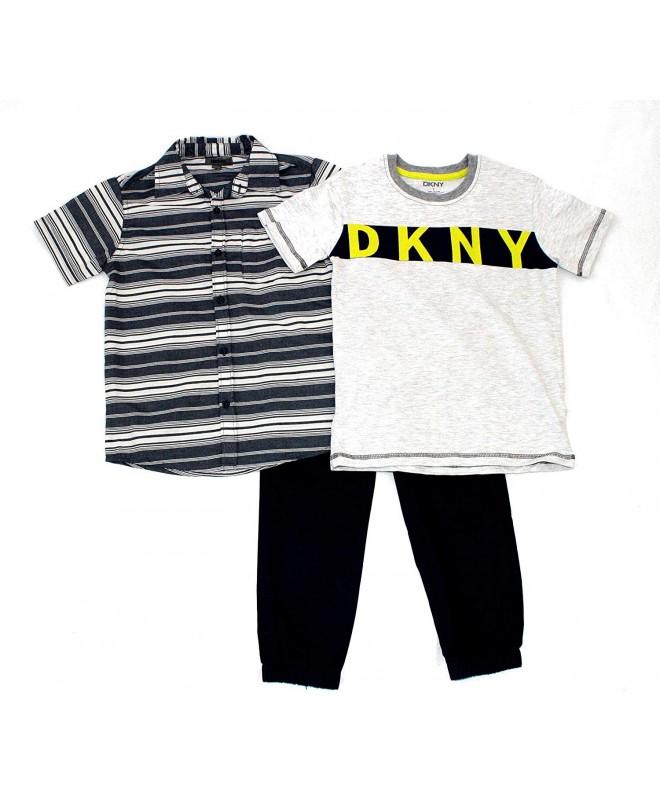 DKNY Boys Pant Block Letters
