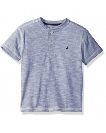 Nautica Short Sleeve Henley T Shirt
