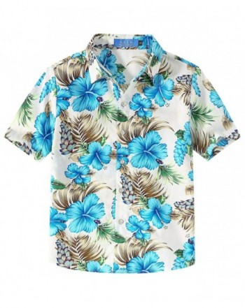 SSLR Hibiscus Cotton Sleeve Hawaiian