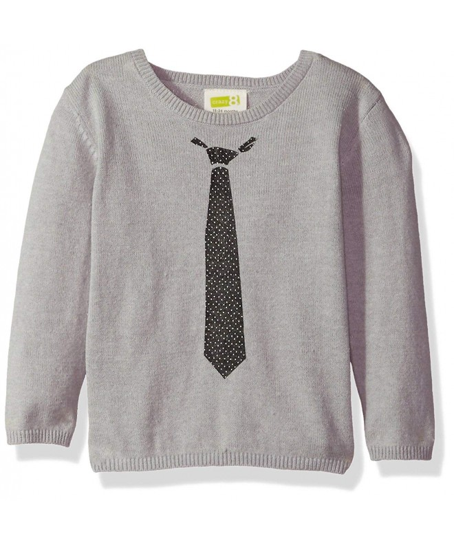 Crazy Boys Faux Pullover Sweater