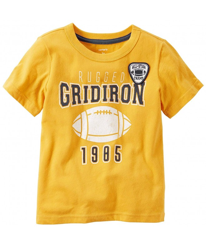 Carters Sleeve Gridiron Football Mustard