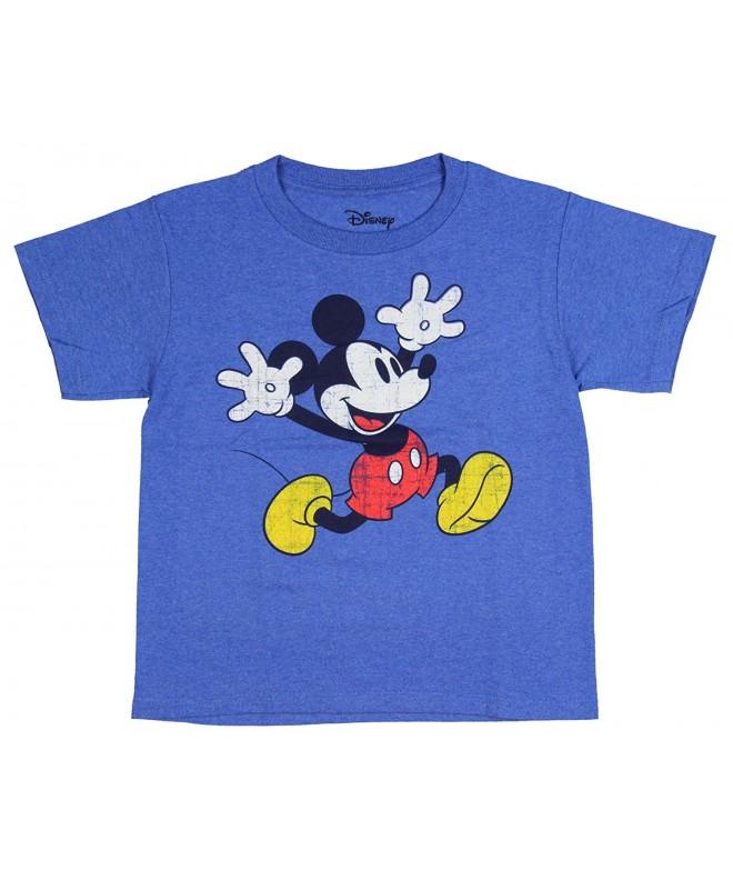 T Shirt Running Distressed Cartoon Character