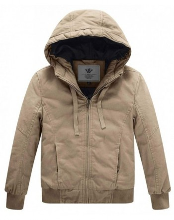 WenVen Winter Thicken Outdoor Jacket