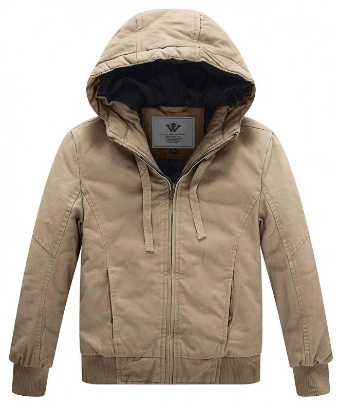 WenVen Winter Thicken Outdoor Jacket