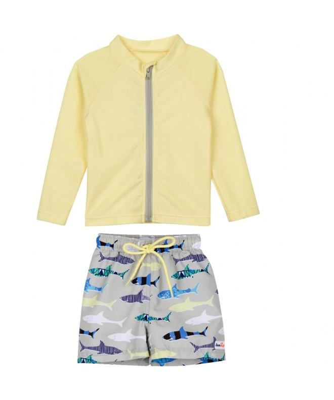 SwimZip Zipper Sleeve Guard Swimsuit