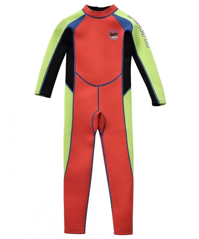 Gogokids Kids Wetsuit Neoprene Swimsuits