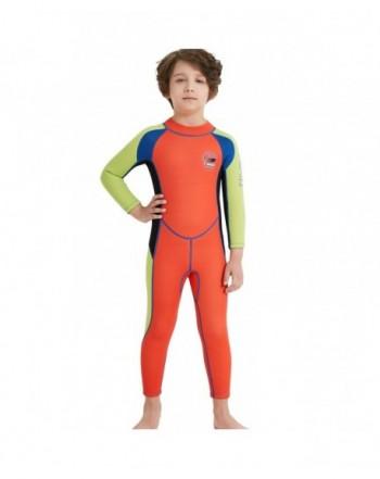 1be097a1c0 Gogokids Kids Wetsuit Neoprene Swimsuits. Cheap Real Boys' Swimwear Sets.  Brands Boys' Swimwear Outlet Online. prev