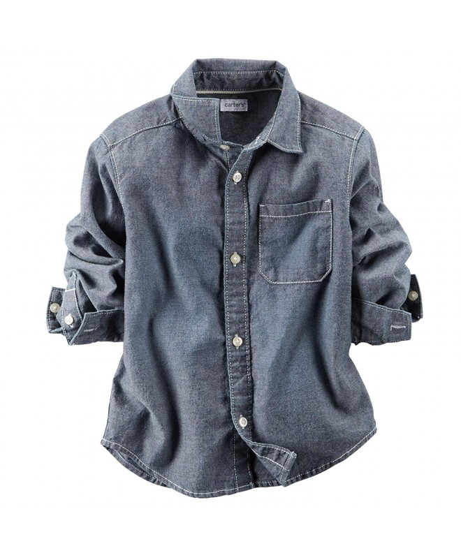 Carters Woven Button Shirt Toddler