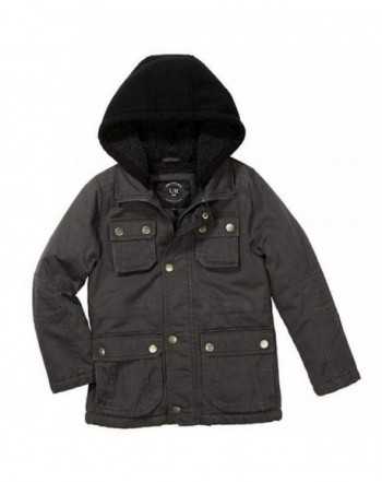 Urban Republic Sherpa Hooded Jacket