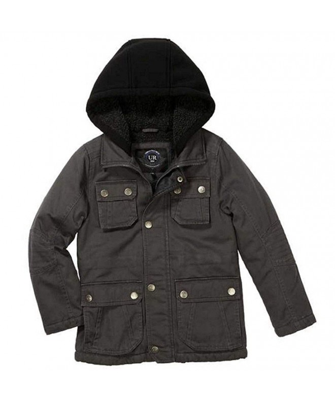 Urban Republic Sherpa Hooded Jacket