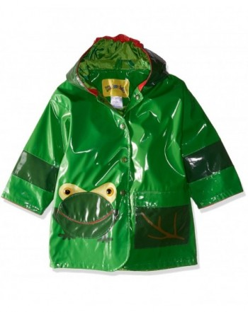 Kidorable Green All Weather Raincoat Pocket