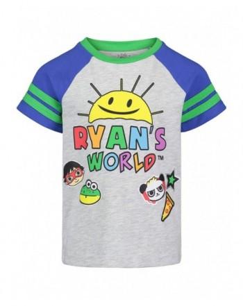 Ryans World Sleeve Graphic Cartoon