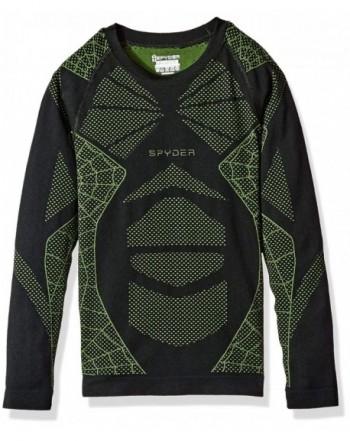 Spyder Boys Racer Sleeve Shirt