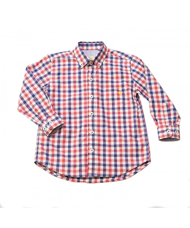 Dakomoda Toddler Gingham Plaid Check