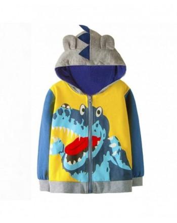 Tecrok Little Dinosaur Sweatshirt Hoodie