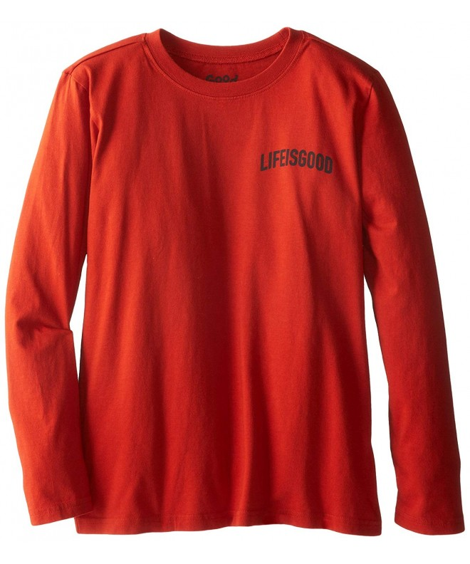 Life Good Sleeve Snowboard T Shirt