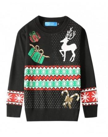 SSLR Crewneck Snowflake Pullover Christmas