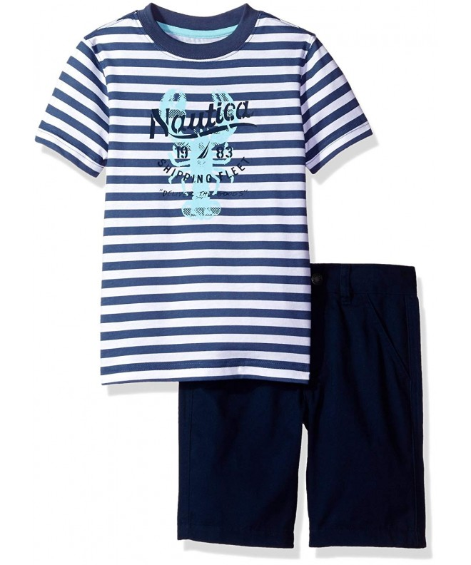 Nautica Boys Piece Graphic Short