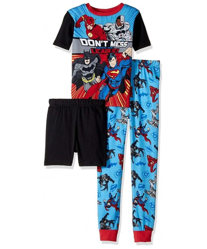 Justice League 3 Piece Cotton Pajama