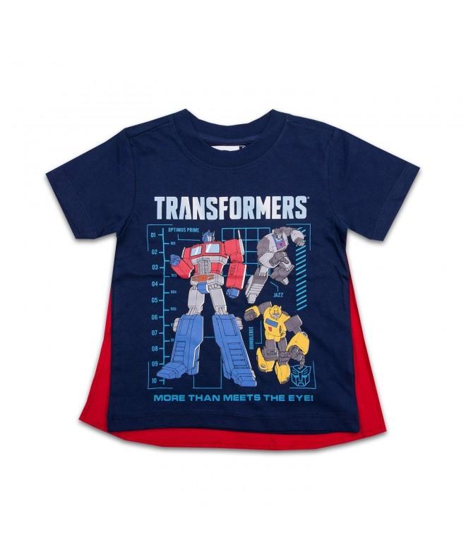 Transformers Toddler Boys Cape Shirt