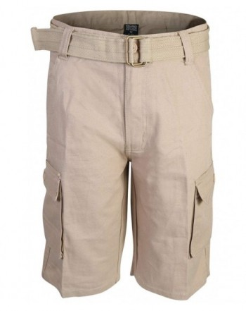 Quad Seven Ripstop Belted Shorts