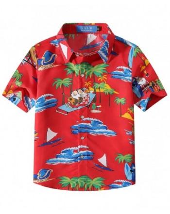 SSLR Funny Hawaiian Christmas Shirts