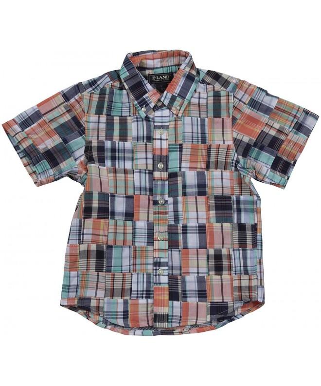 land Kids Patchwork Shirt Toddler
