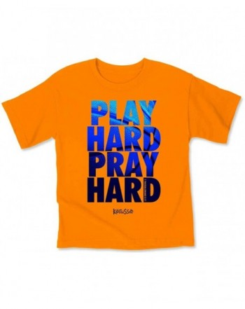 Kerusso Play Hard Kids T Shirt