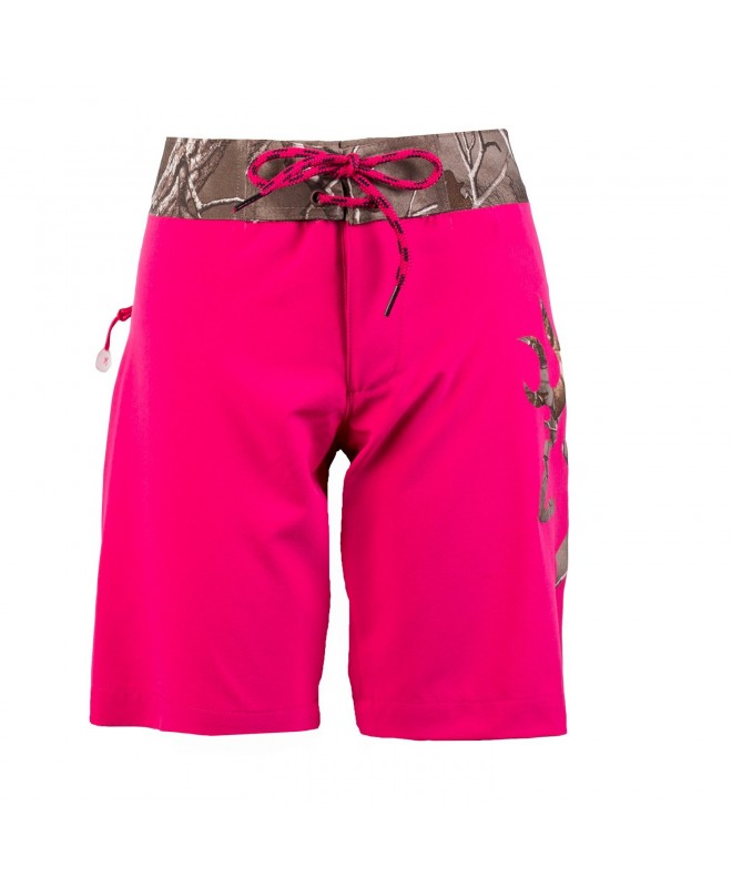 Browning Youth Boardshort Realtree Fuchsia