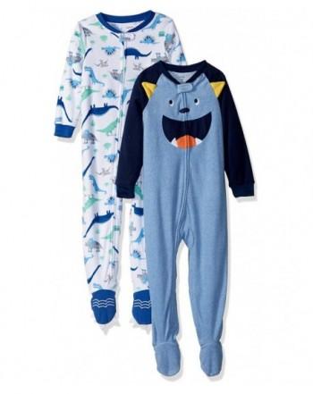 Carters Boys 2 Pack Fleece Pajamas