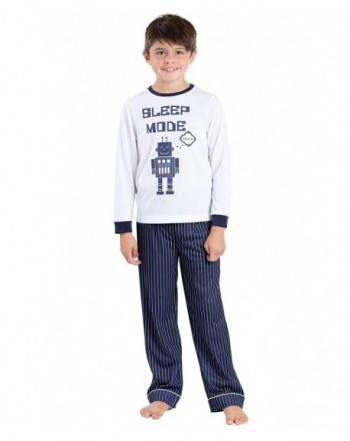 PajamaGram Big Boys PJs Set
