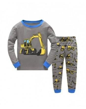 Dreamaxhp Excavator Little Pajamas Cotton