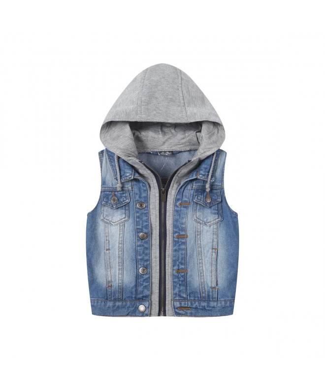 SUSIELADY Fashion Hoodie Waistcoat Printed
