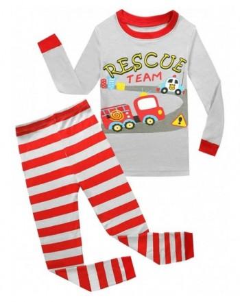 Christmas Pajamas Kids Toddler Sleepwear