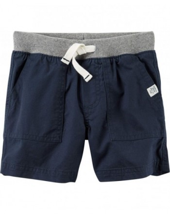 Carters Toddler Pull Twill Shorts