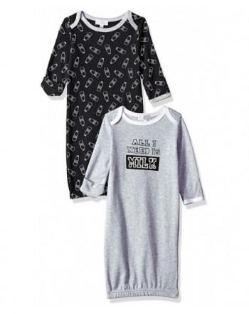 Quiltex Boys Toddler Sleeper Gowns