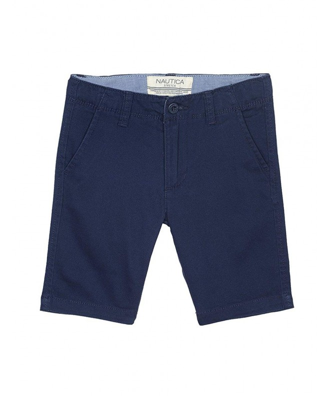 Nautica Boys Solid Front Short